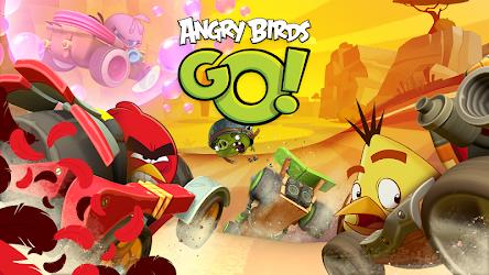تحميل لعبة Angry Birds Go مهكرة [أخر اصدار] لـ أندرويد