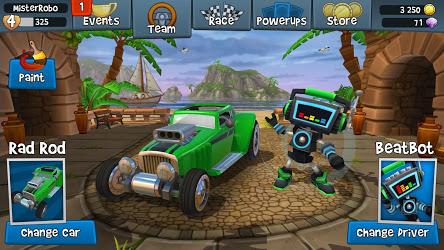 تحميل لعبة Beach Buggy Racing 2 مهكرة [أخر اصدار] لـ أندرويد