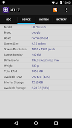 تحميل تطبيق CPU-Z مهكر APK [أخر اصدار] لـ أندرويد