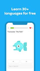 تحميل تطبيق دولينجو مهكر Duolingo [أخر اصدار] لـ أندرويد