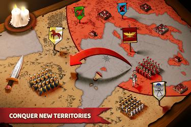 تحميل لعبة Grow Empire Rome مهكرة [أخر اصدار] لـ أندرويد