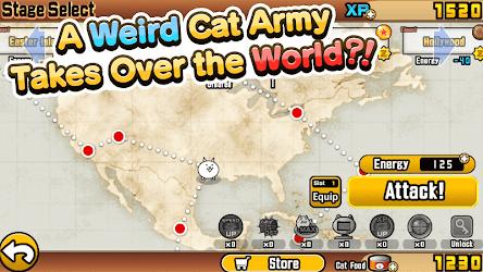 تحميل لعبة The Battle Cats مهكرة [أخر اصدار] لـ أندرويد