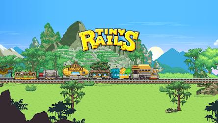 تحميل لعبة Tiny Rails مهكرة [أخر اصدار] لـ أندرويد