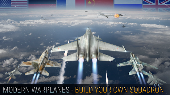 تحميل لعبة Modern Warplanes [مهكرة + APK] للاندرويد