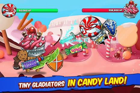 تحميل لعبة Tiny Gladiators [مهكرة + APK] للاندرويد
