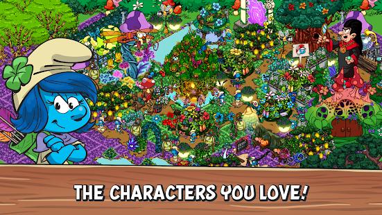 تحميل لعبة Smurfs Village [مهكرة + APK] للاندرويد