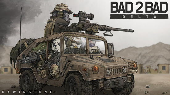 تحميل لعبة BAD 2 BAD: DELTA [مهكرة + APK] للاندرويد