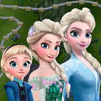 تحميل لعبة Frozen Free Fall [مهكرة + APK] للاندرويد