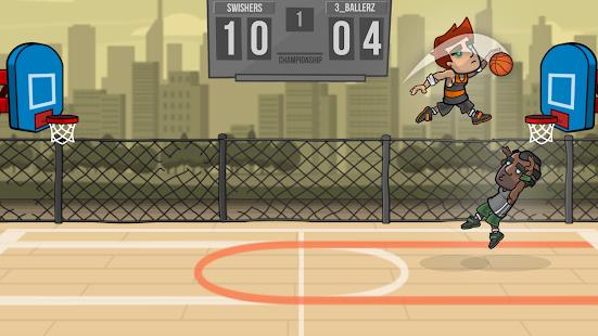 تحميل لعبة Basketball Battle [مهكرة + APK] للاندرويد