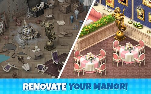 تحميل لعبة Manor Cafe [مهكرة + APK] للاندرويد