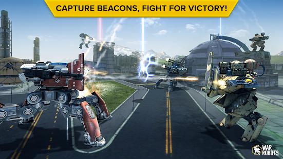 تحميل لعبة War Robots [مهكرة + APK] للاندرويد