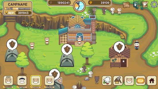 تحميل لعبة Cat Forest – Healing Camp [مهكرة] للاندرويد