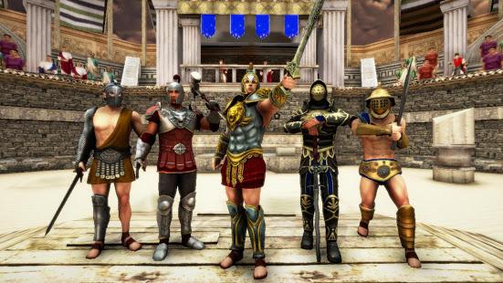 تحميل لعبة Gladiator Glory [مهكرة + APK] للاندرويد