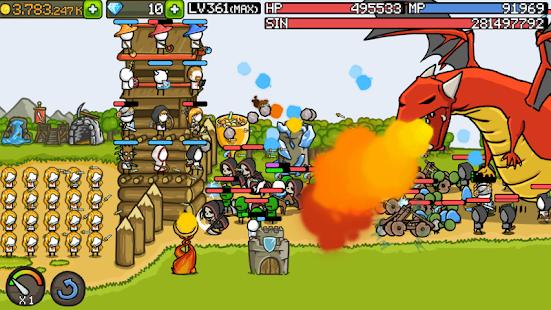 تحميل لعبة Grow Castle [مهكرة + APK] للاندرويد