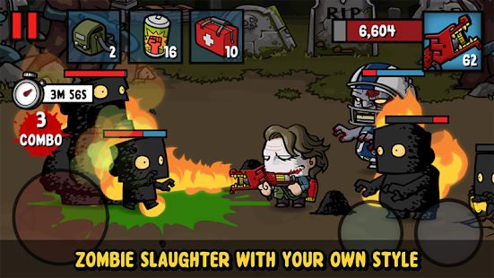 تحميل لعبة Zombie Age 3 [مهكرة + APK] للاندرويد