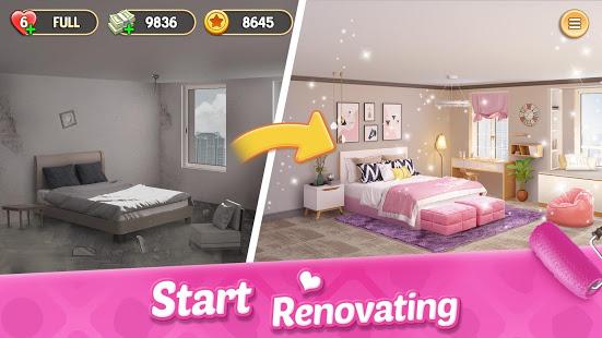 تحميل لعبة My Home Design Dreams [مهكرة + APK] للاندرويد