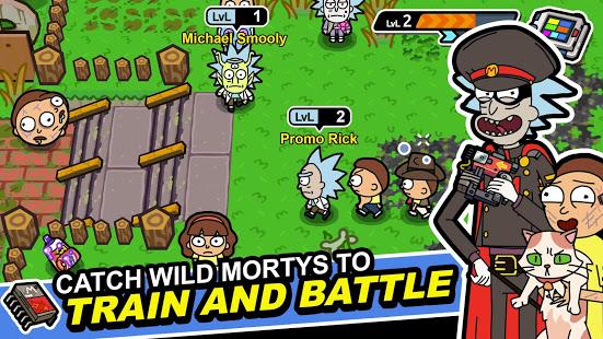 تحميل لعبة Pocket Mortys [مهكرة + APK] للاندرويد