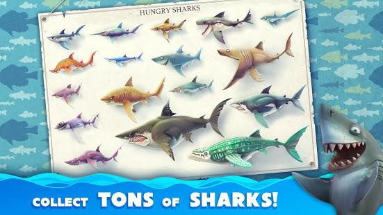 تحميل لعبة Hungry Shark World [مهكرة + APK] للاندرويد